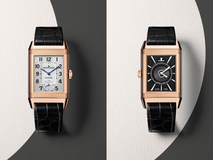 unveils lecoultre anniversary the jaeger new watches duo five for reversos tribute s reverso