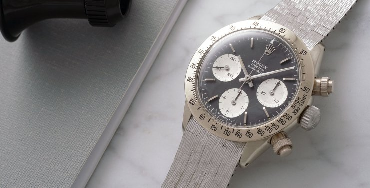 Rare White Gold Daytona \u201cThe Unicorn\u201d is up for Sale , WatchTime