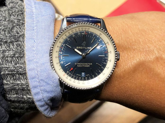 Meet The Breitling Navitimer 1 Automatic 38 Watchtime
